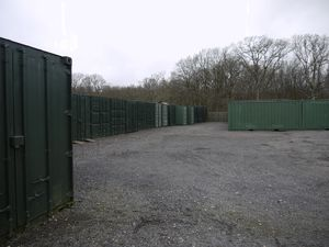 Self Storage Containers at Shadoxhurst